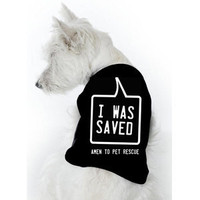 MyAnimalActivist — Thank Heavens for Pet Rescue Tee