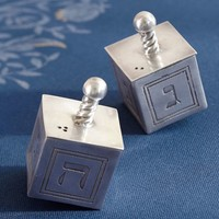 DREIDEL SALT & PEPPER SET