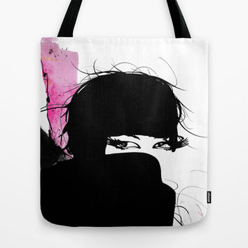 Demure Tote Bag by Allison Reich