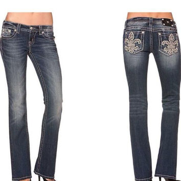 """""""Miss Me Embellished Bootcut Jeans"""""""