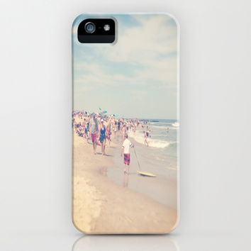 down by the shore iPhone & iPod Case by Julia Ann