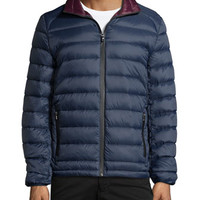 Cortez Quilted Packable Jacket, Midnight Blue