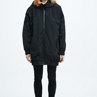 Sparkle & Fade Sportstar Bomber Jacket in Black - Urban Outfitters