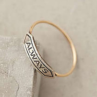 Amour Banner Ring
