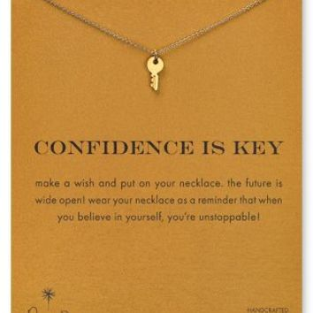 Dogeared Confidence is Key Necklace 18  Bloomingdalesx27s
