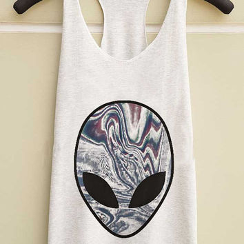 alien yuppy shop for Tank top Mens and Girls available S - XXL customized