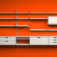Exhibition: 606 Universal Shelving System by Dieter Rams | Daily Icon