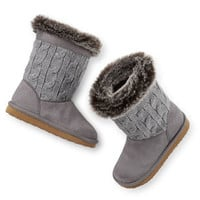 Carter's Cable Knit Boots