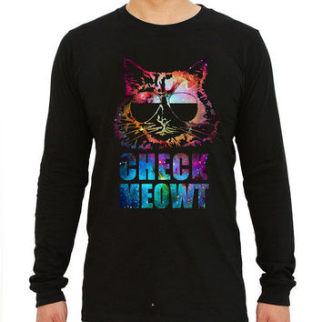 Check Meowt Cat Sunglasses for long sleeved Mens and long sleeved Girls