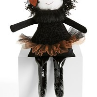 Woof & Poof Small Black Chenille Party Witch Doll