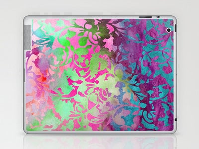 Earth_Watercolor Laptop &amp; iPad Skin by Garima Dhawan | Society6