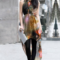 Starry Anomalous Shift Dress [NCSKK0226] - $51.99 :