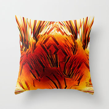 MINDSETH Throw Pillow by Chrisb Marquez