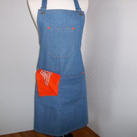 The BBQ Grill Master apron  O.O.A.K.