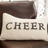 CHEER SWEATER PILLOW COVER