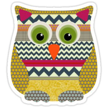New York beauty stripe owl