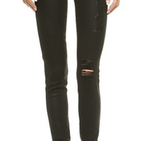 Twiggy Glossed Legging Jeans