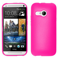 Zizo Premium Flexible TPU Case for HTC One Remix - Hot Pink