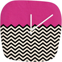 DENY Designs Home Accessories | Bianca Green Follow Your Heart Modern Clock