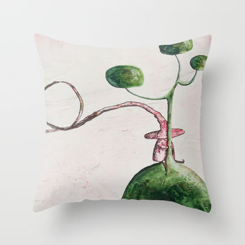 The tale's witch Throw Pillow by Timone | Society6