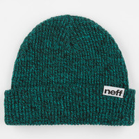 Neff Daily Heather Fold Beanie Turquoise/Black One Size For Men 24590629501