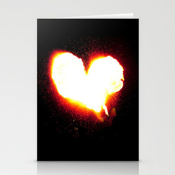 Heart of Fire Stationery Cards by Legends of Darkness Photography