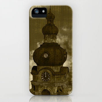 The Clock Tower II iPhone & iPod Case by Texnotropio