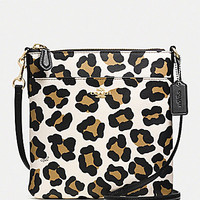 COACH NORTH/SOUTH SWINGPACK IN OCELOT PRINT LEATHER | Dillards.com
