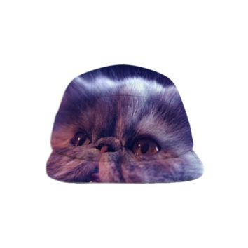 Cat Baseball Hat created by ErikaKaisersot | Print All Over Me