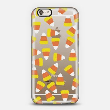 Candy Corn Jumble Transparent iPhone 6 case by Lisa Argyropoulos | Casetify