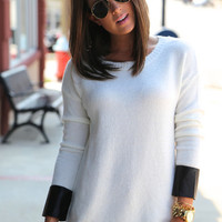 Leather Forever {Knit}