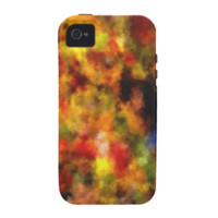 intriguing colorful pattern iPhone 4/4S cases