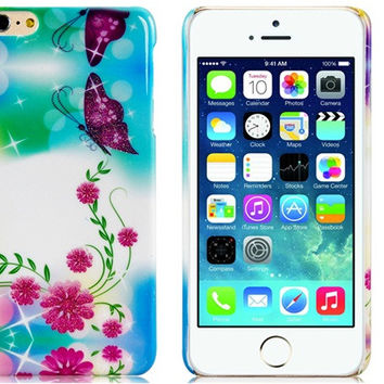 Butterfly Plastic Case for iPhone 6 Plus
