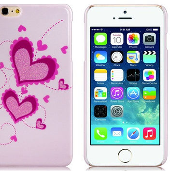 Love Plastic Case for iPhone 6 Plus