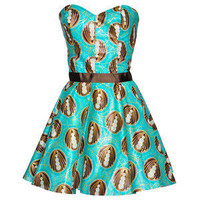 Style Icon's Closet 50s style Vintage Inspired Pin-Up African Print Retro Rockabilly Clothing — Limited Edition African/Tribal Print Party Dress