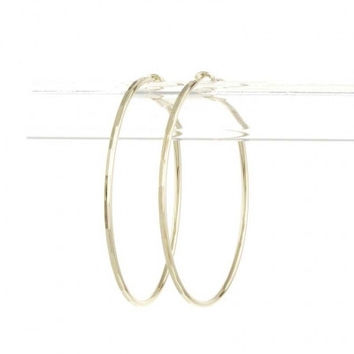 Classic Hoop Earrings - Gold or Silver – H.C.B.