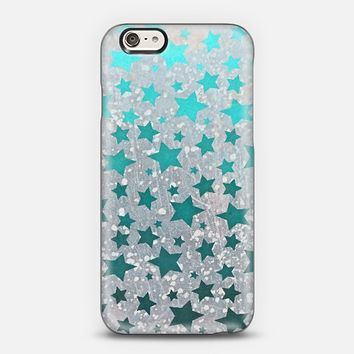 All Stars in Teal iPhone 6 case by Lisa Argyropoulos | Casetify