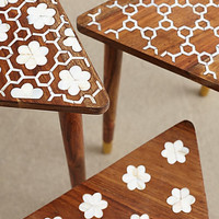Mother-Of-Pearl Nesting Tables