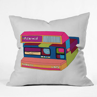 Captures Great Moments - Throw Pillow by Bianca Green | DENY Designs