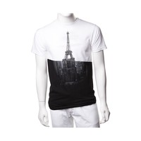 Mens Eiffel Tower/Empire State Building Tee