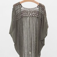 Gimmicks By BKE Mesh Cardigan