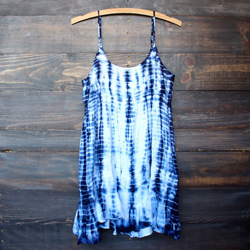 tie dye for dress | blue flowy bohemian boho chic dresses free spirit festival concert outfits