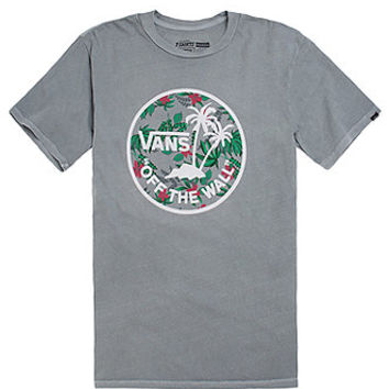 Vans Dual Palm T-Shirt - Mens Tee - Gray -