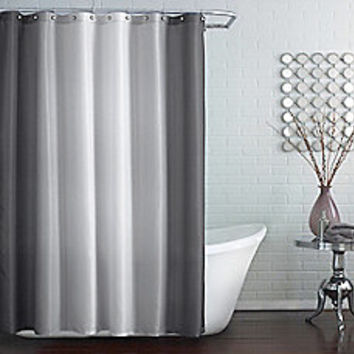 Blaire Shower Curtain in Grey