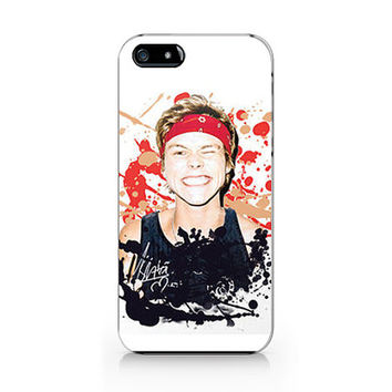 M-572- Ashton Iwrin paint splatte artfrom 5 Seconds of summer  for iPhone 4/5/5C/6 case, Samsung galaxy S4/S5/Note3 case