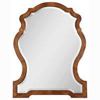 Aubrey Mirror Uttermost Arched &amp; Crowned Mirrors Home Decor