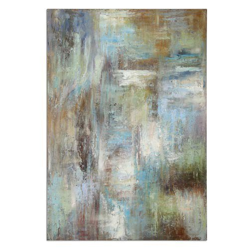 Dewdrops: 48 X 70 Wall Art Uttermost Wall Art Wall Art Home Decor