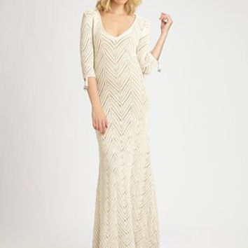 Mara Hoffman - Crochet Maxi Dress