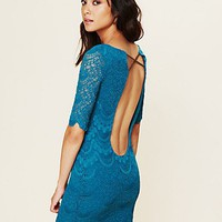 Free People Spanish Lace Priscilla Dress