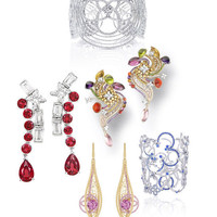 Les plus belles parures Louis Vuitton Joaillerie sur les tapis rouges